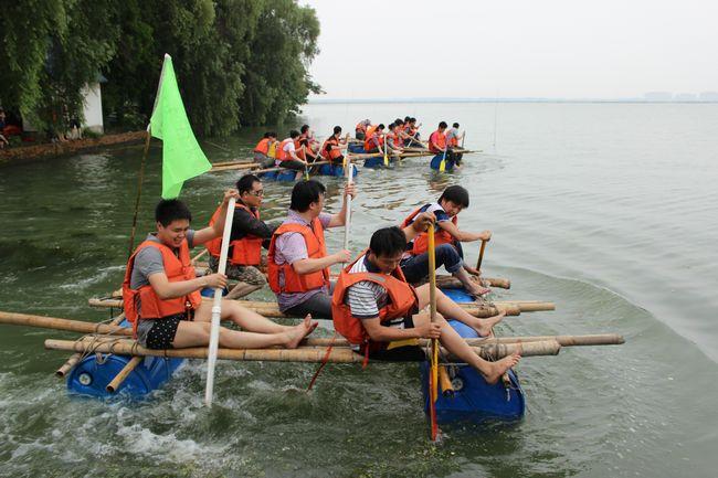上海超网6月10号天池岛拓展培训